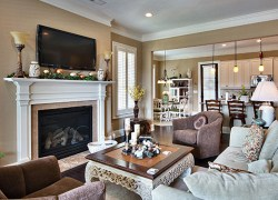 Family Room at Sterling Estates East Cobb in Marietta, GA