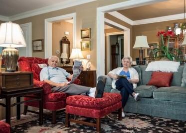 Residents Relaxing at Sterling Estates East Cobb in Marietta, GA