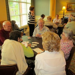 Playing Cards at Sterling Estates East Cobb in Marietta, GA